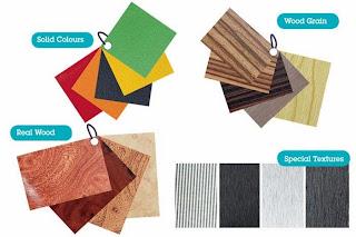 Ragam tekstur pilihan warna & motif HPL