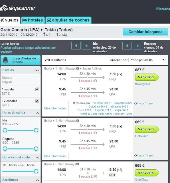 Como volar de Gran Canaria a Asia por menos de 600 euros i/v, 2