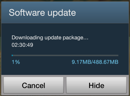 Galaxy Grand Duos Android 4.2.2 Update Log
