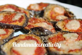 ricette melanzane pizzette