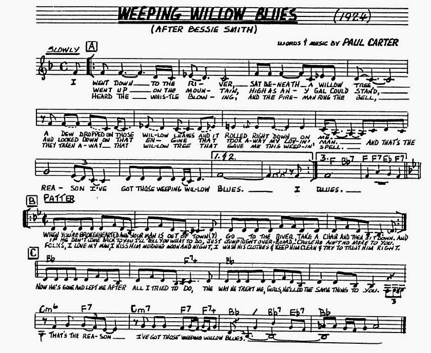 Pops Coffees Traditional Jazz Post 64 Weeping Willow Blues