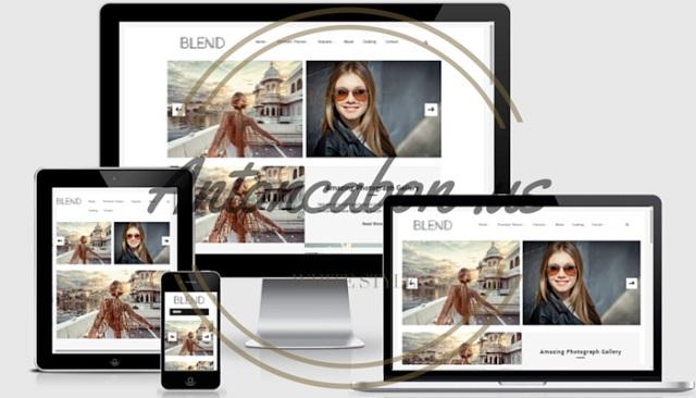Blend Responsive Blogger Template