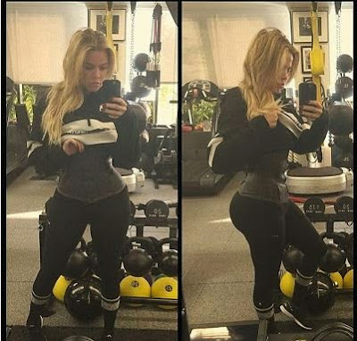 Khloe Kardashian shows off her hour Stuning shape (photo)