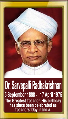 essay of dr sarvepalli radhakrishnan Sarvepalli radhakrishnan: life and writings sarvepalli radhakrishnan was born on september 5, 1888, at tiruttani, forty miles to the north-east of madras, in south india his early years were spent in tiruttani and tirupati, both famous as pilgrim centres.