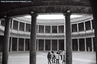 Palacio de Carlos V. Palace of Charles V. Alhambra. Granada. Spain.