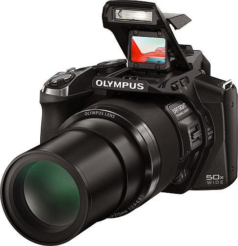 Olympus Stylus SP-100, ultrazoom camera, dot sight technology, creative filters, art filter, Full HD video, TruePic VII processor