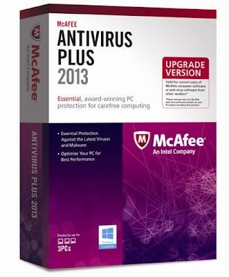 تحميل برنامج مكافي انتي فيروس 2013 Download McAfee AntiVirus