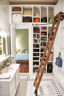 Closets in bedroom decoration