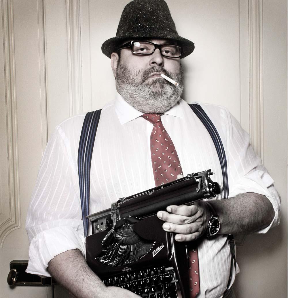 Jorge, un  periodista más independiente que la m...