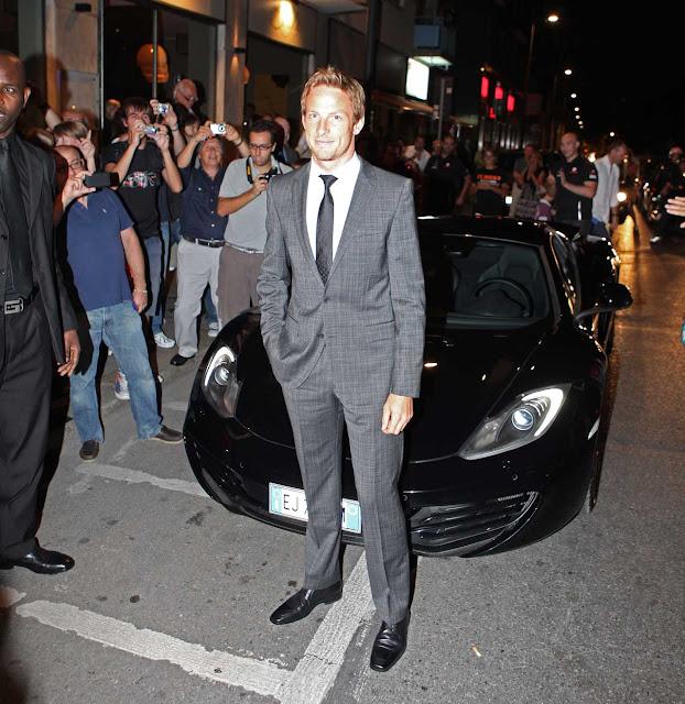 McLaren and Jenson Button