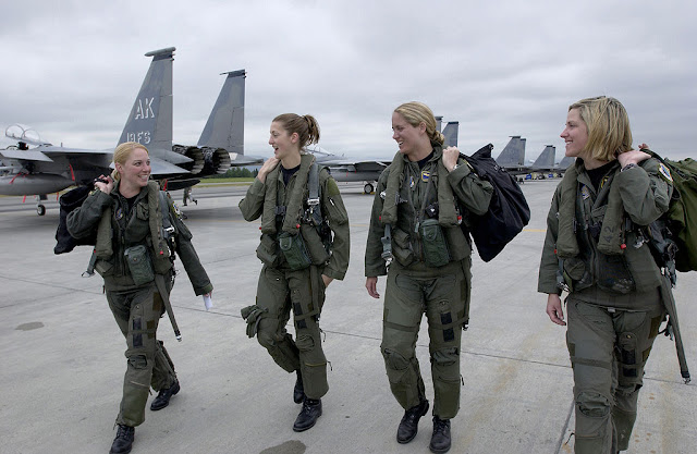 F-15 Eagle women pilots