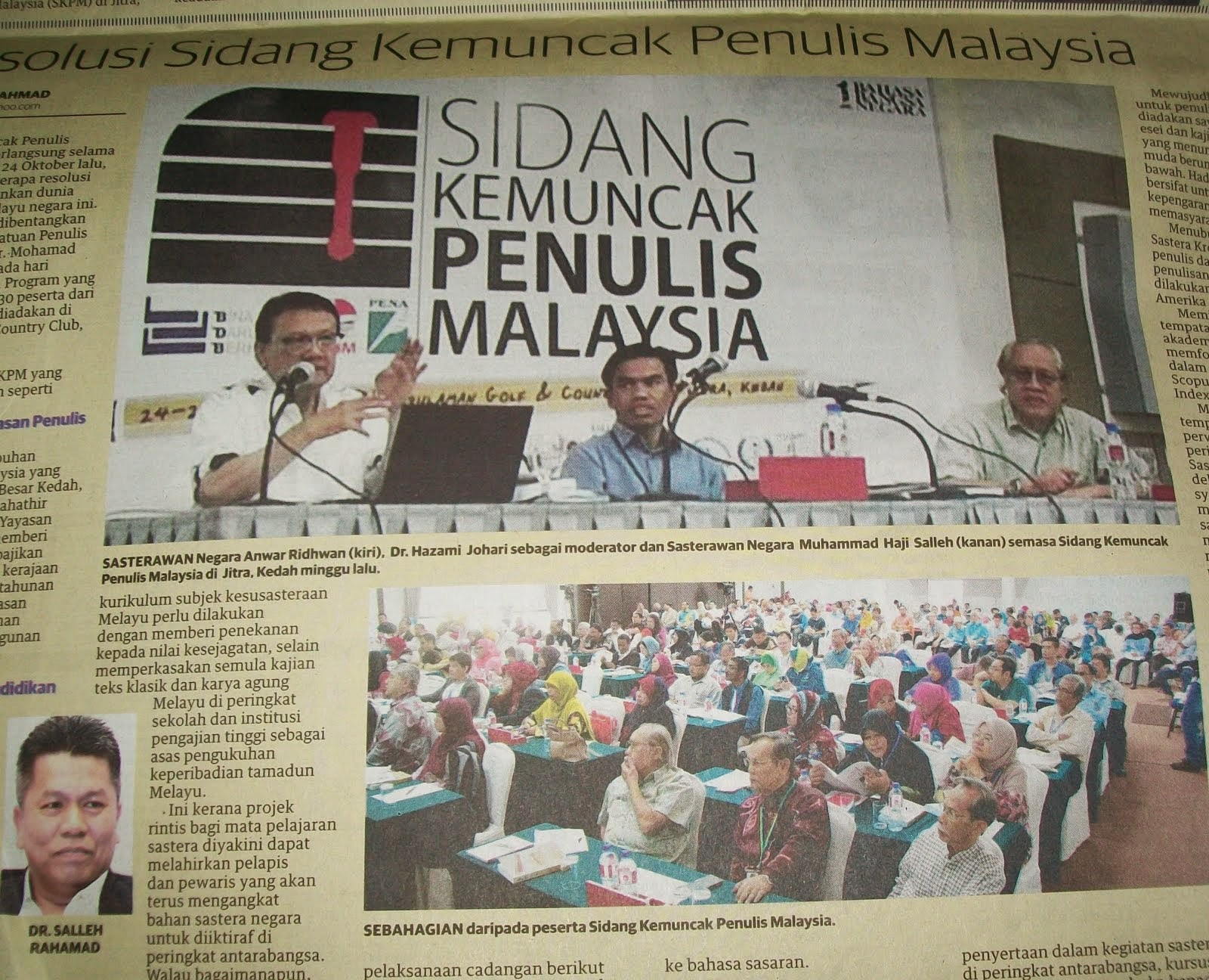 Mingguan Malaysia Ahad 2 Nov 2014