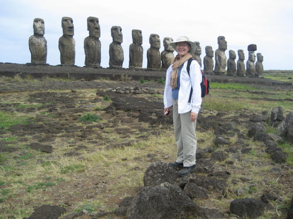 Standing with the stone statesmen of Easter Island
