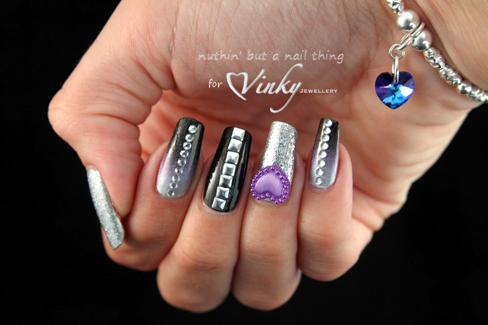 nuthin\' but a nail thing: Vinky Jewellery inspired nail art