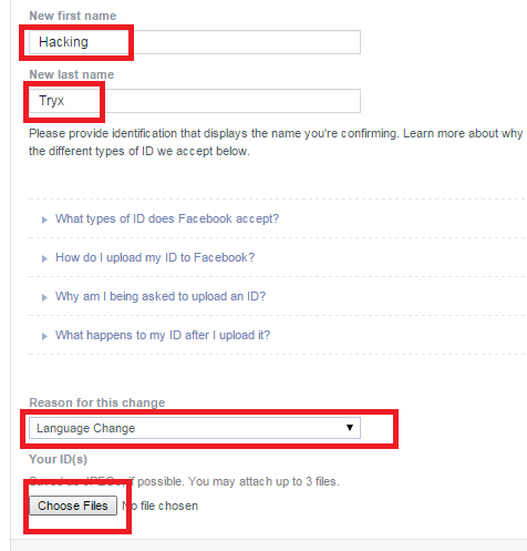 How to Change Facebook Name before Limit (New Name)
