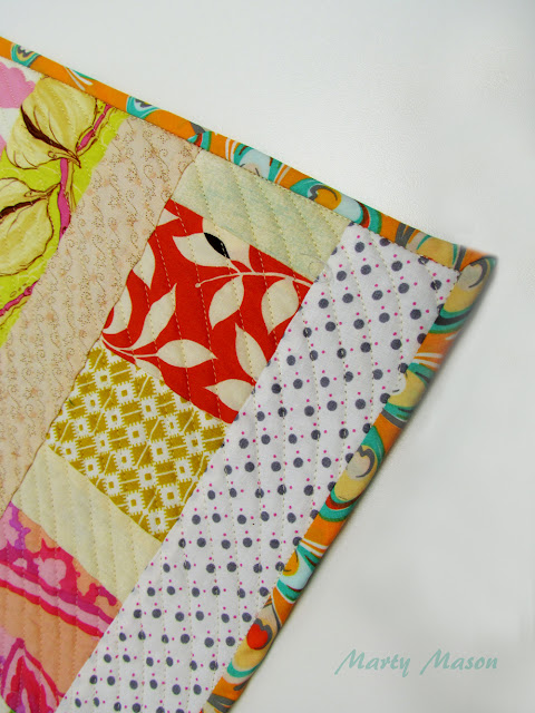 quilt binding with Art Gallery - Modern Affair Collection