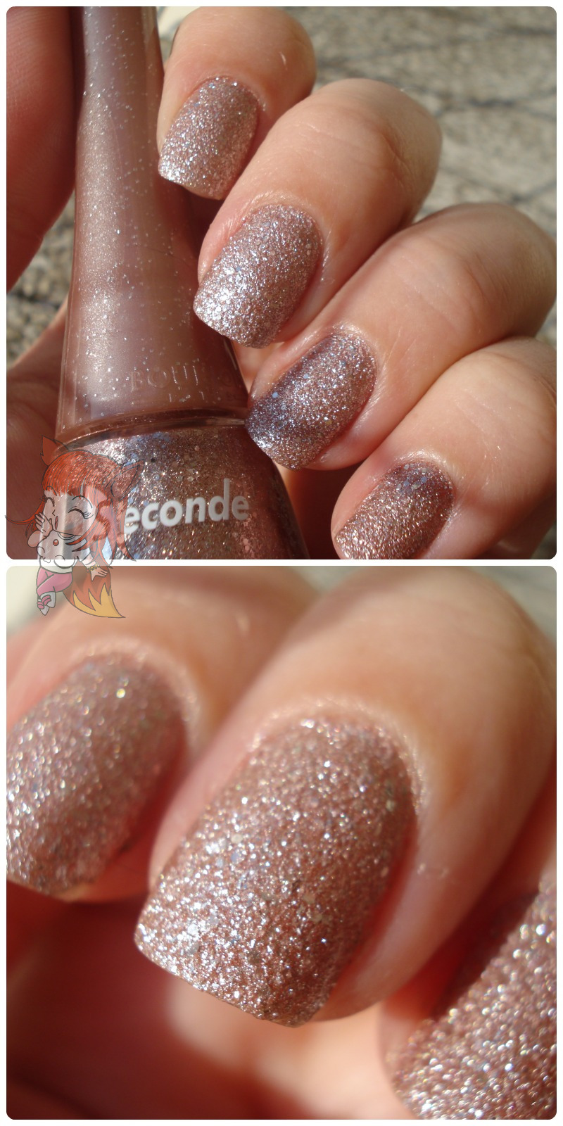 Esmalte Bourjois Liquid Sand :: Champagne Shower