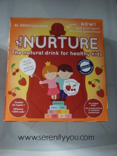 Nurture - Healthy Kids Drinks in box
