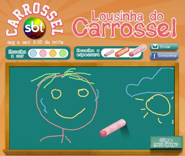 CLIQUE AQUI E JOGUE LOUSINHA DO CARROSSEL AGORA