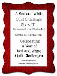 SewCalGal's Red and White Challenge Show IT!