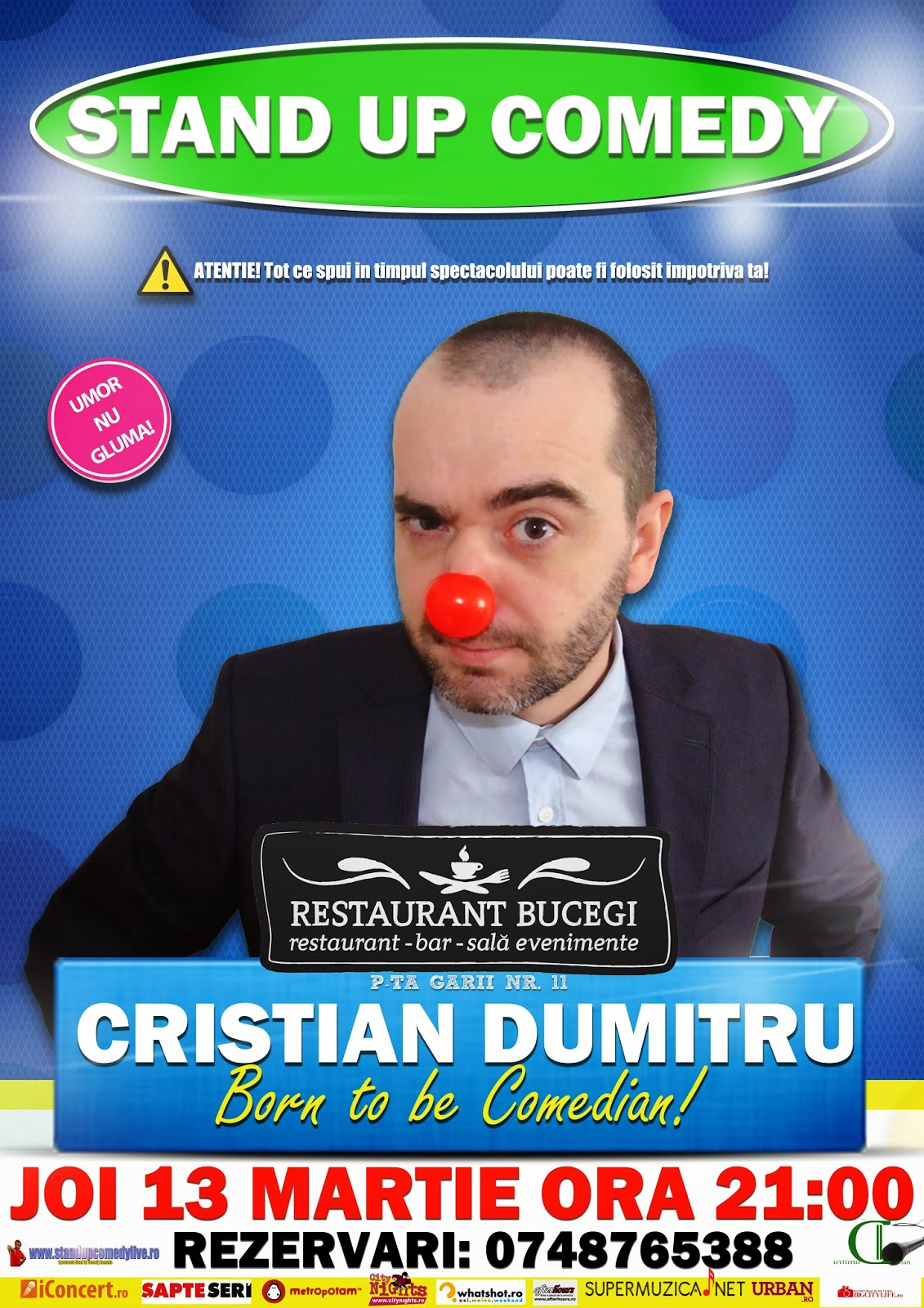 stand-up comedy arad 2014
