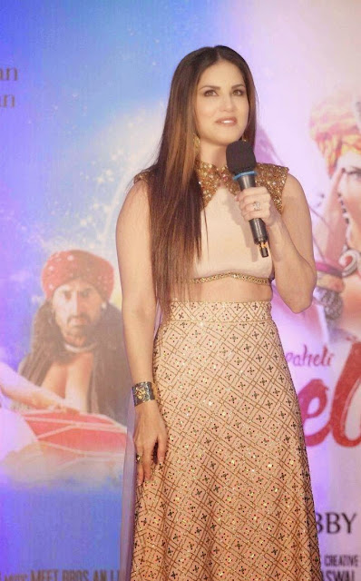 Sunny Leone Stills At Ek Paheli Leela Hindi Movie Promotions