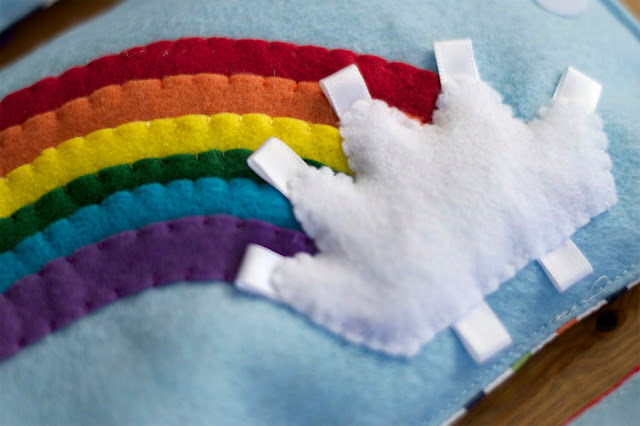 Rainbow Soft Books - Today I Felt Crafty