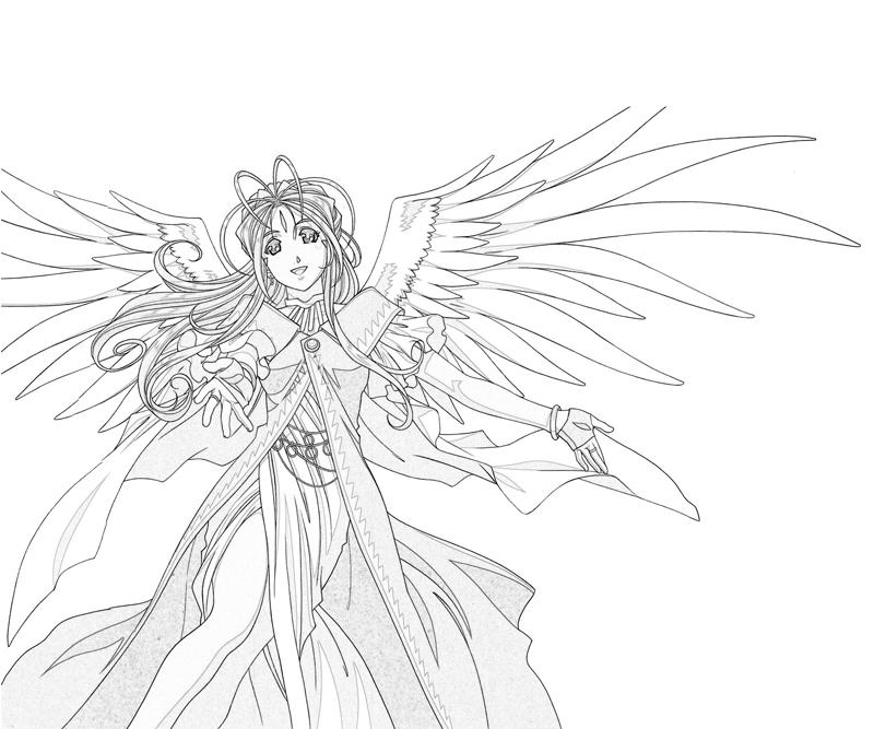 belldandy-character-coloring-pages