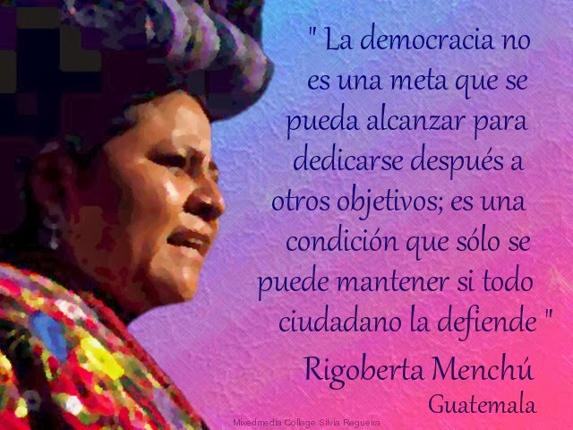 an analysis of rigoberta menchus a cry for justice Fidel castro, chilean president patricio alwyn and nobel peace laureate  rigoberta menchú  see what made simon cowell cry on 'america's got  talent.