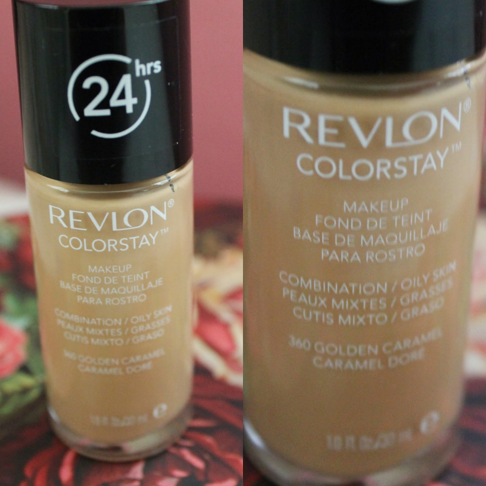 REVLON COLOR STAY 24 HRS FOUNDATION & RIMMEL LONDON MATCH ...