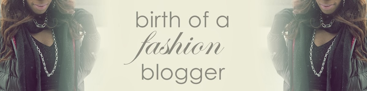 birth of a fashion blogger