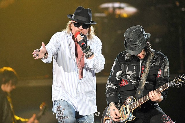 Guns N 'Roses on the Plains July 12
