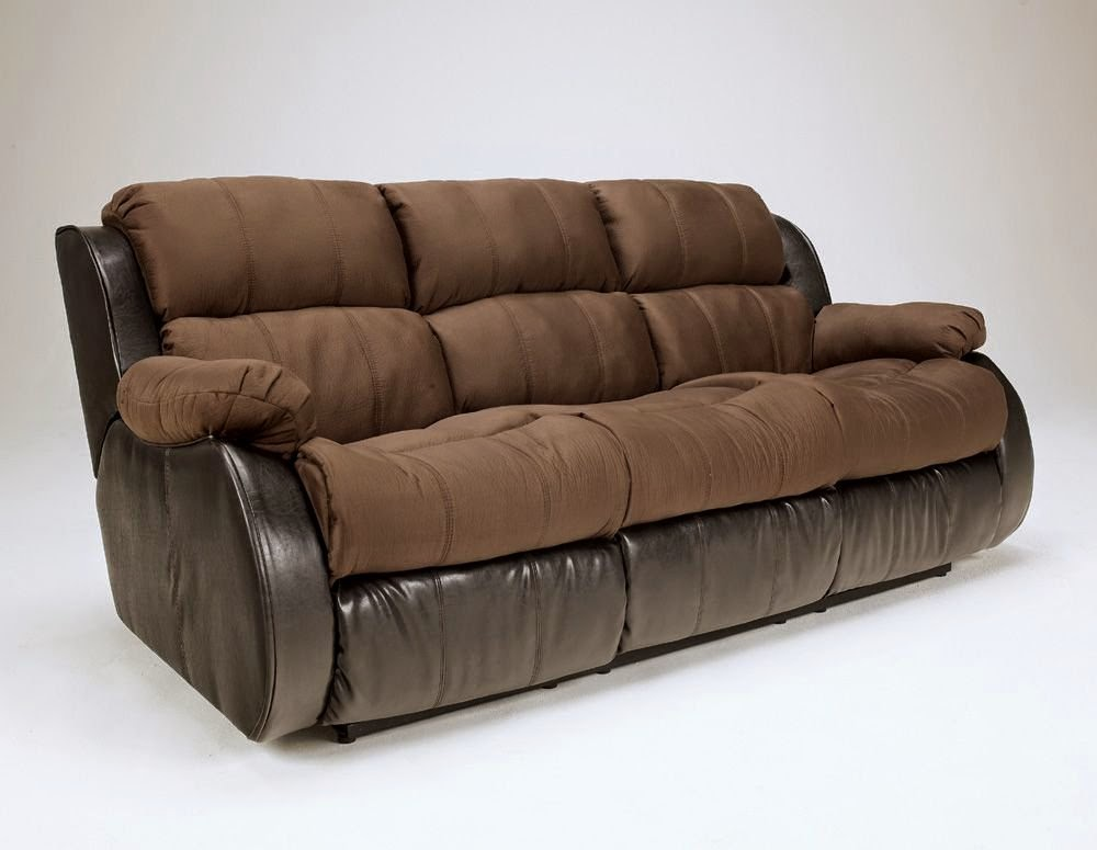 Cheap recliner sofas for sale presley cocoa reclining sofa and loveseat Reclining loveseat sale