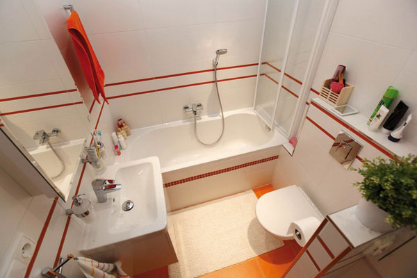 Ideas Baños Funcionales:Small Bathroom Design Ideas
