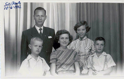 Debs Webster and Family June 6 1952