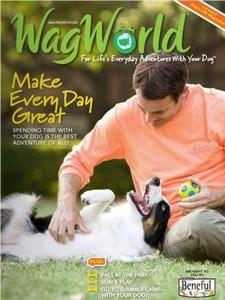 Amostra Gratis Assinatura Da Revista Wagworld Sobre Cães  da Beneful