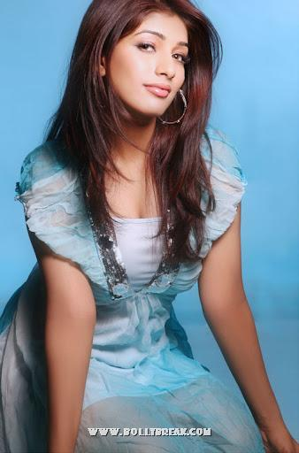 Preeti Bhandari in blue dress - Preeti Bhandari Hot photoshoot pics