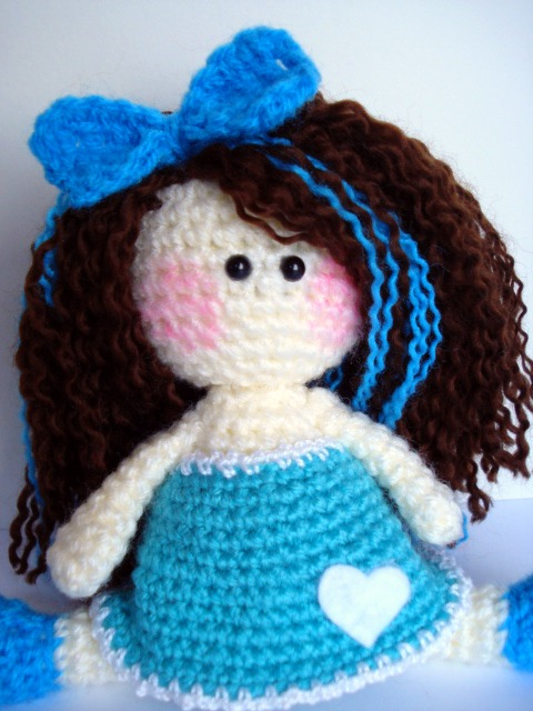 AllSoCute Amigurumis: Sitting Beauty- Crochet Amigurumi ...