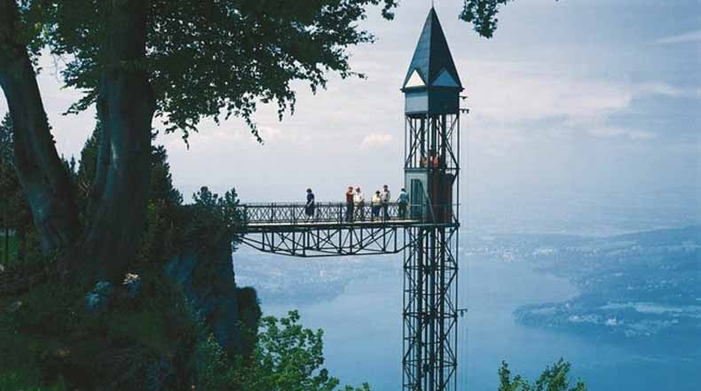 Ascensor Hammetschwand: El ascensor exterior más alto de Europa