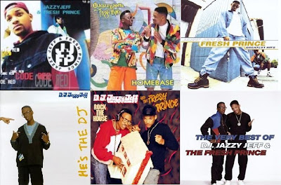 DJ Jazzy Jeff & The Fresh Prince Discography