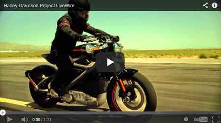 Video Harley Davidson Livewire