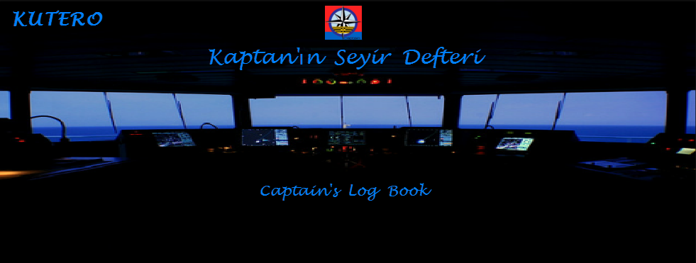 KUTERO Kaptan'ın Seyir Defteri - Captain's Log Book