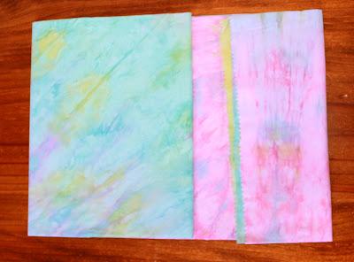 fabric folding using corflute