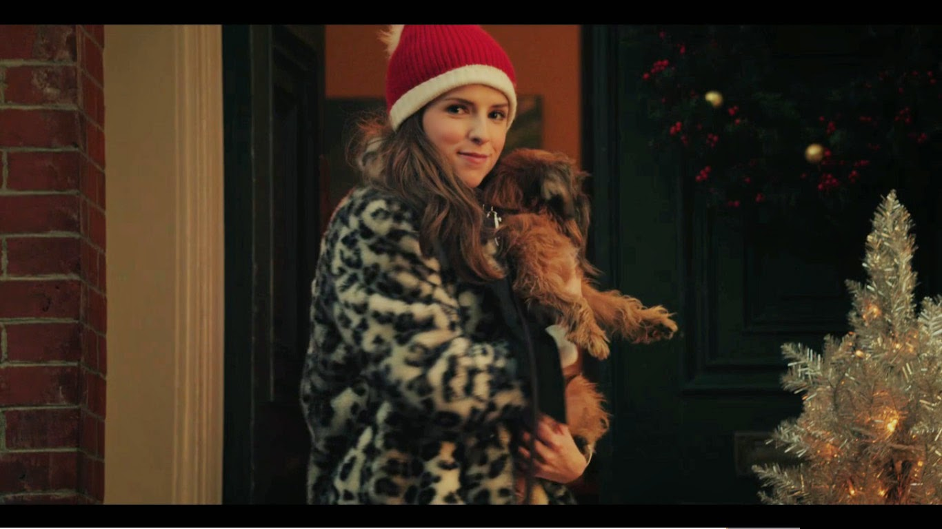 "Anna Kendrick in Kate Spade new york Holiday campaign video, ""the waiting game""."