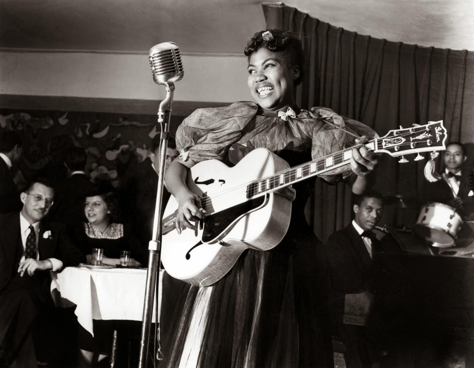 Guitar Snob: Sister Rosetta Tharpe (Rosetta Nubin) - Born ... Rosetta Tharpe