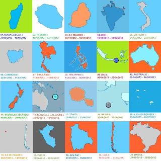 VACANCES : Mon [1er] tour du Monde