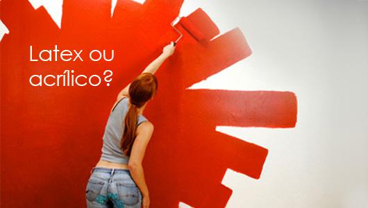 Pintando ambientes l tex ou acr lico com qual tipo de tinta devo pintar - Pintura acrilica para paredes ...