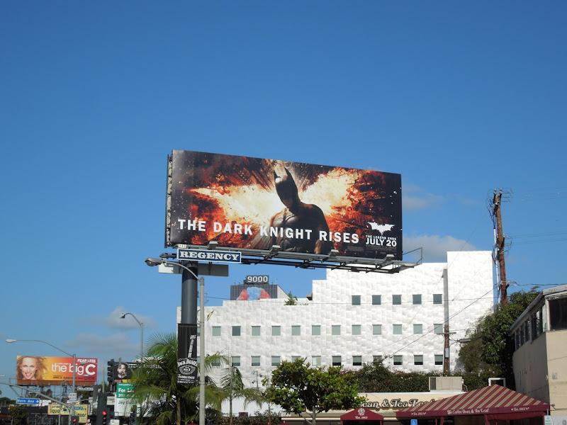 Dark Knight Rises billboard