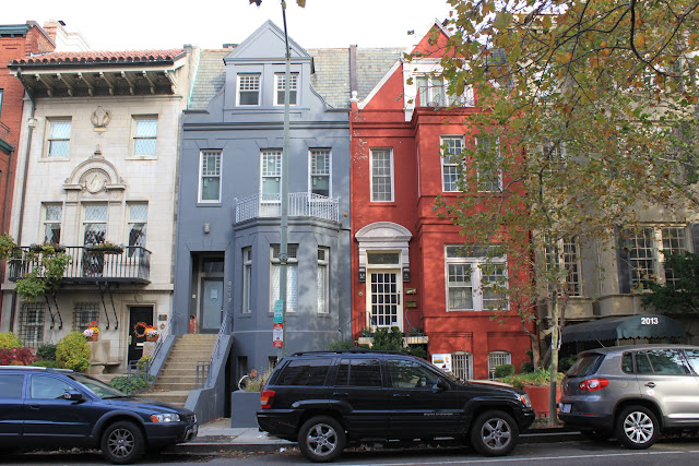 High end and peaceful residential neighbourhood in Dupont Circle, Washington DC, USA