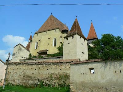 Obiective turistice Romania: biserica fortificata de la Biertan